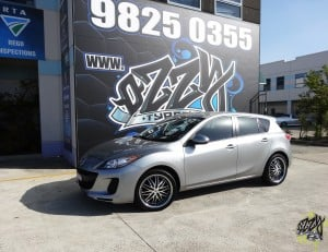 Mag Wheels To Suit Mazda 3