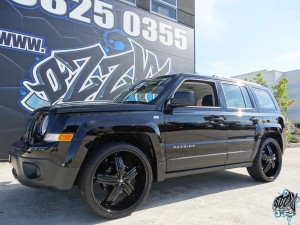 Jeep Patriot tyres