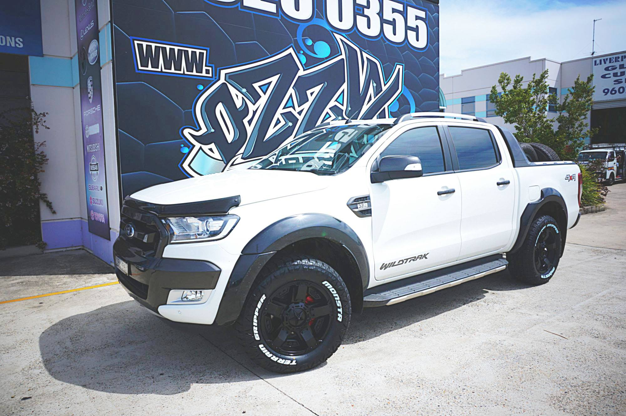 New Ford Ranger Wheels and Tyres