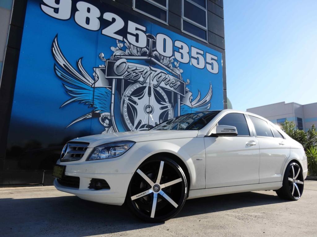Mercedes Replica Wheels