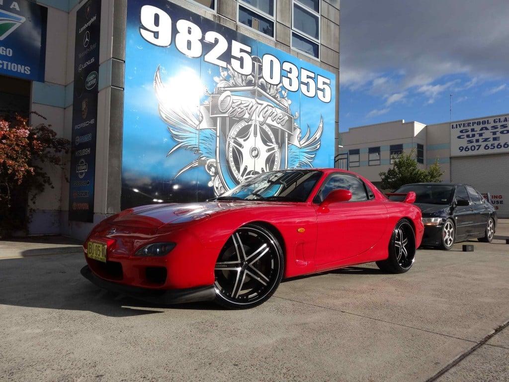 Mag Wheels Mazda