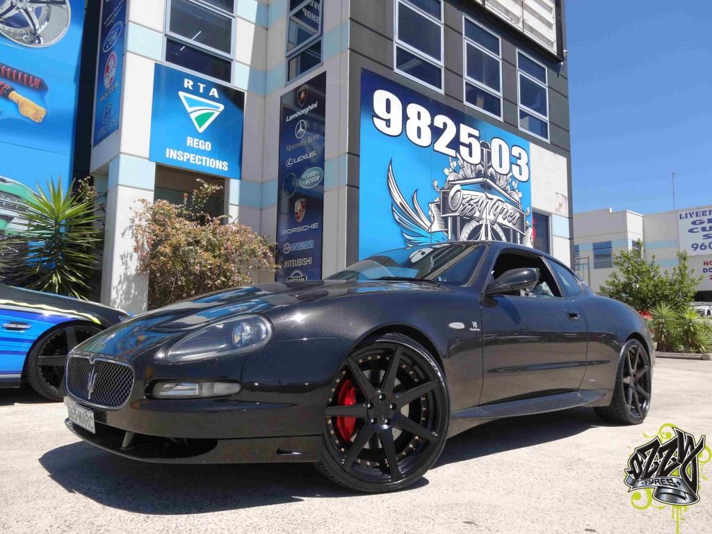 Mag Wheels Maserati