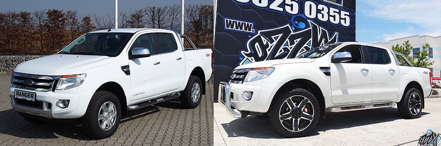 Ford Ranger 4x4 Alloy Wheels