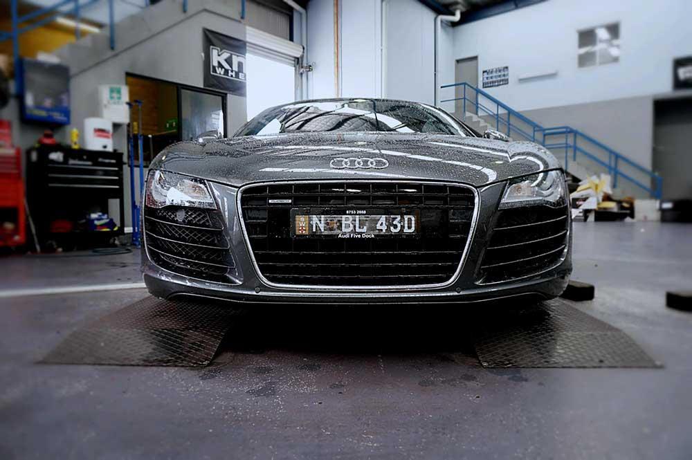 Audi R8 gets a facelift with Vertini RF1.1