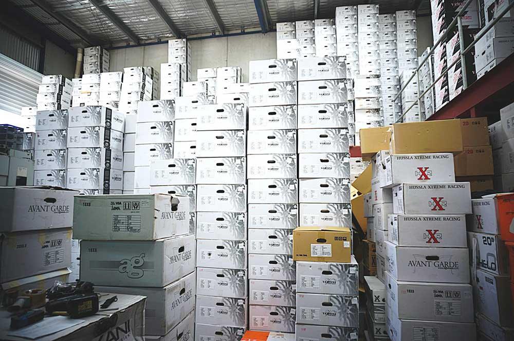 Vertini Wheels Shipment