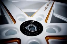 Lexani R4 with a custom touch.