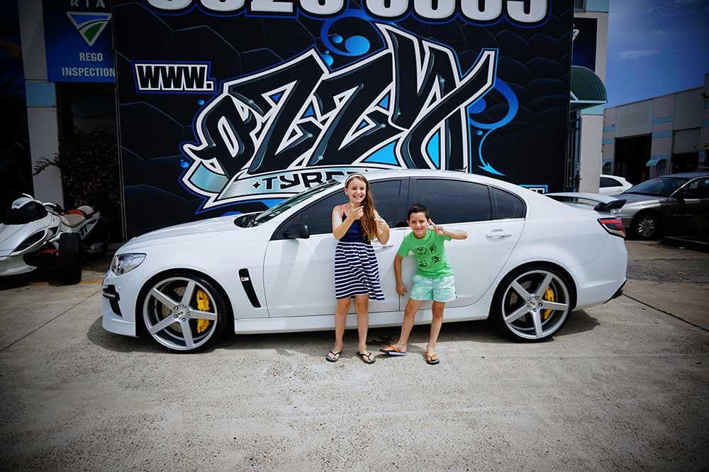 2015 HSV VF GTS - LSA gets XO Luxury Wheels Miami in 22inch