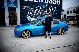 XR6 with Vertini Drift and Nitto INVO Tyres