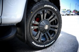 2016 Holden Colorado Z-71 on KMC Monster 2 with Monsta Tyres