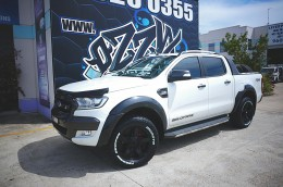 2016 Ford Ranger on KMC Rockstar 2 with Monsta Tyres