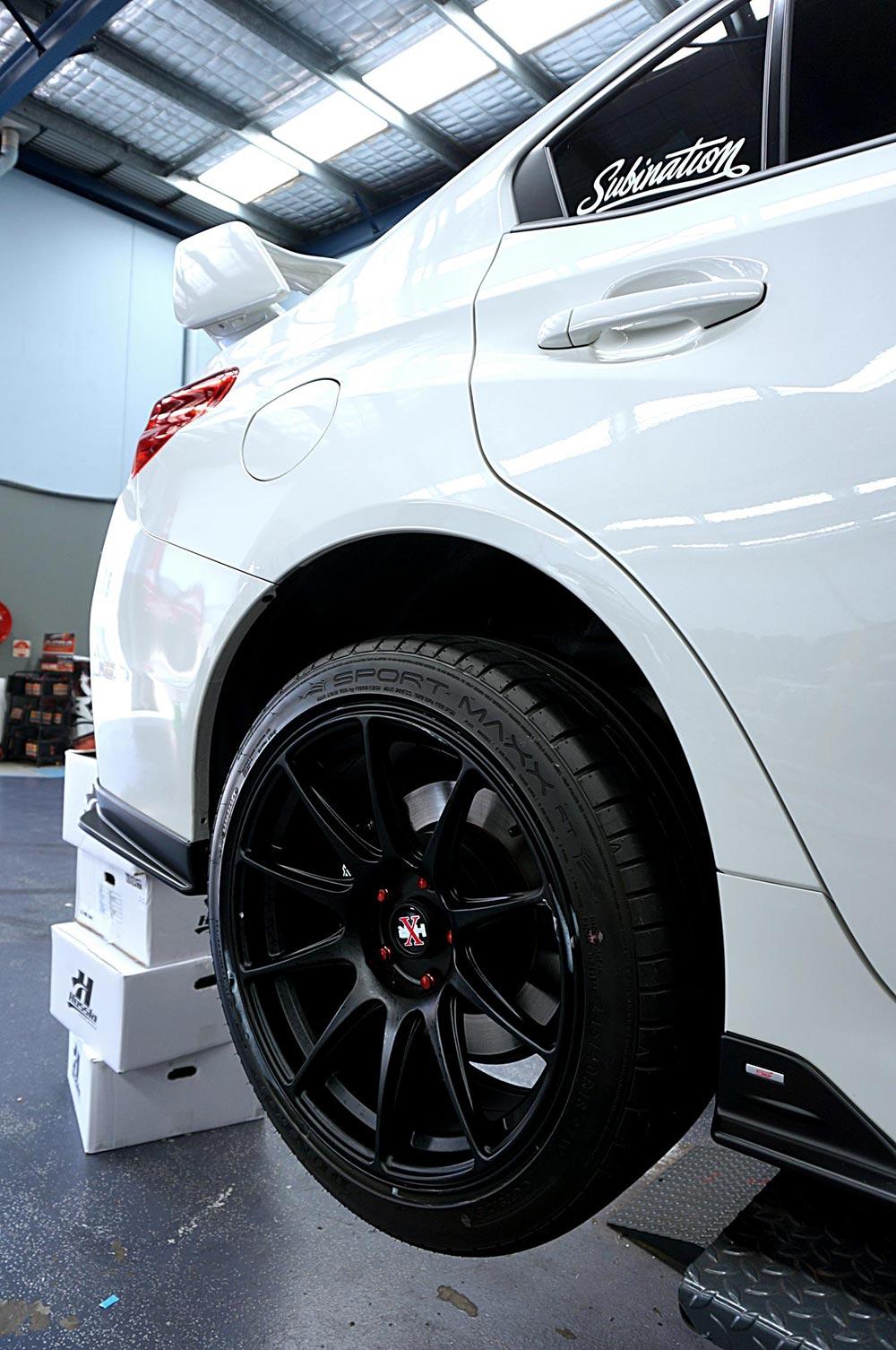 Hussla 027 rear fitment
