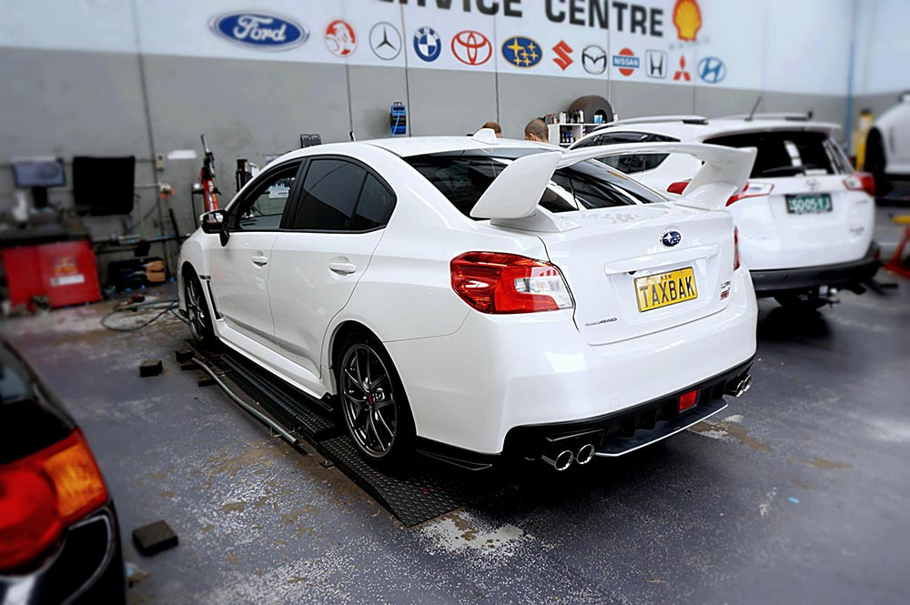 New STI in for some Hussla Wheels.