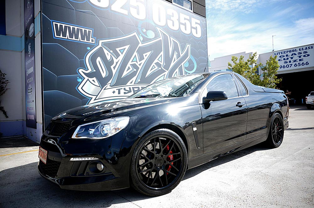 All Black everything. Maloo with Vertini Magic