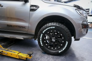Ford Ranger gets addicted to looking good! KMC Addict