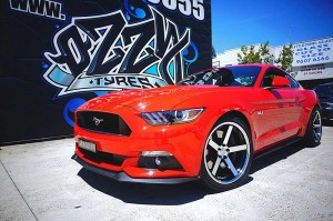 2016 Ford Mustang Mag Wheels and Rims