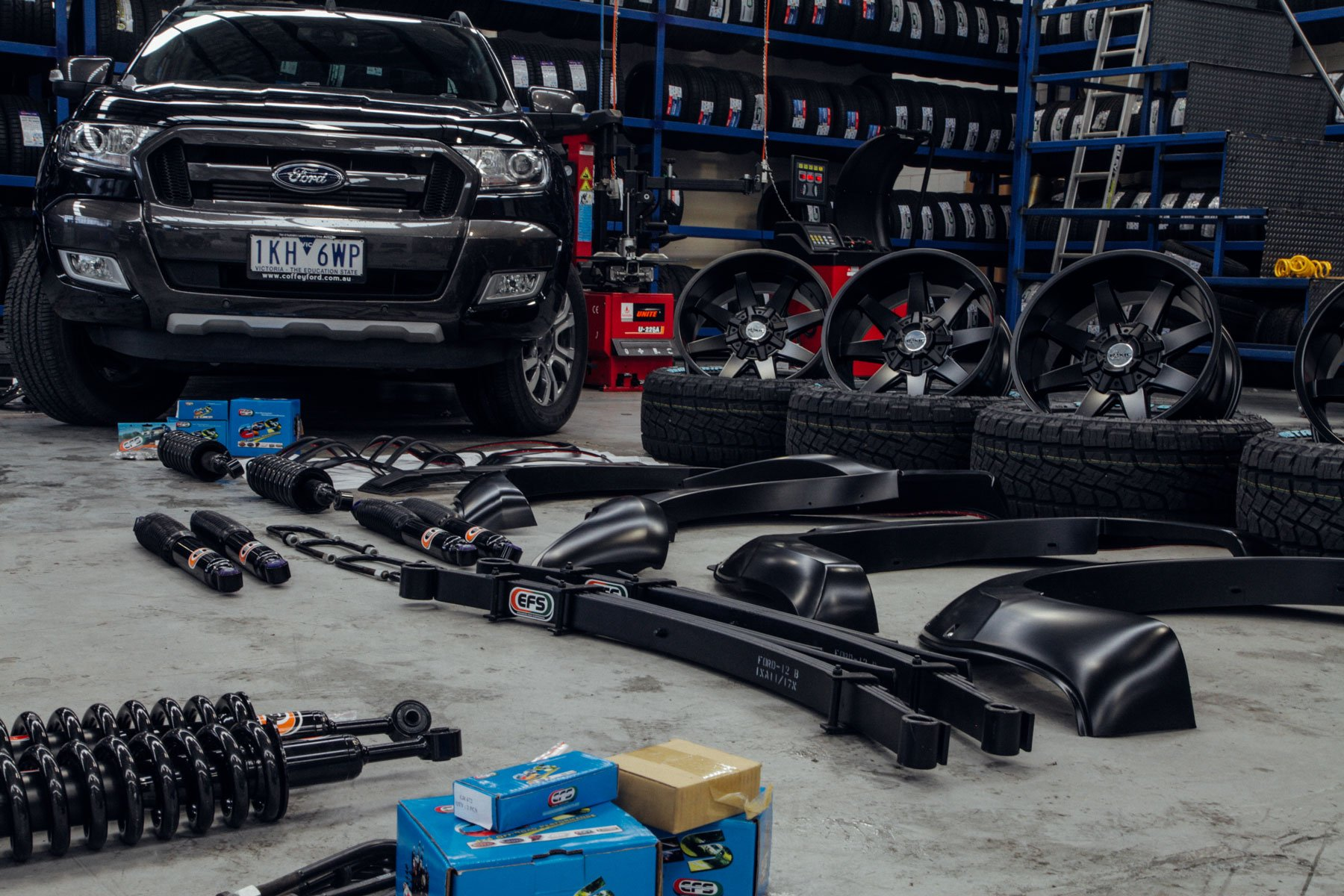 black-px-ford-ranger-surrounded-by-4x4-accessories