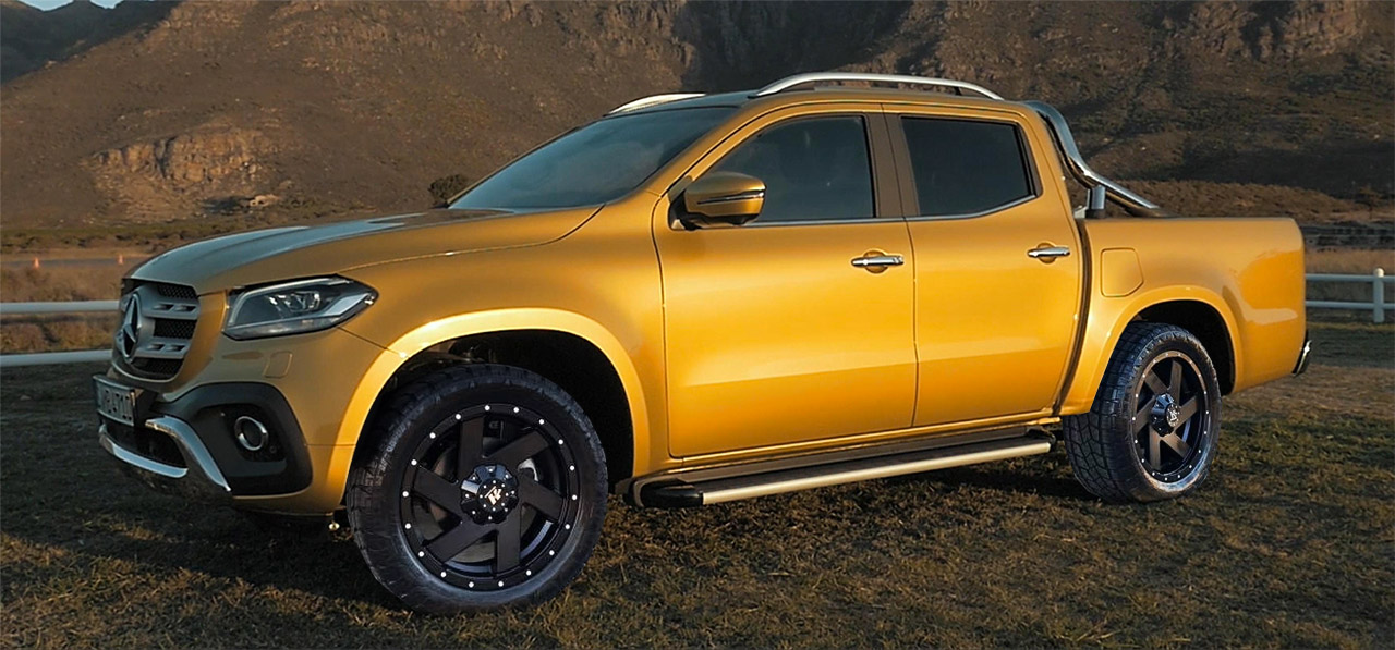Mercedes Benz X-Class Ute Wheels | Wheels & Tyres For X-Class Utes