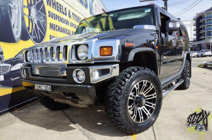 Hummer H2 Rims & Mag Wheels