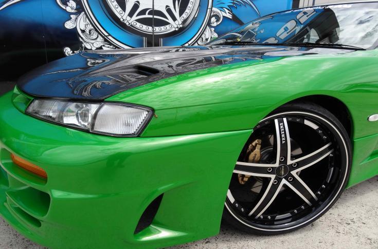 Nissan Silvia 200SX S14 Rims & Mag Wheels