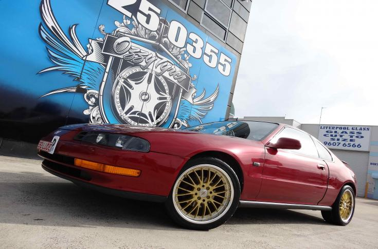 Honda Prelude Rims & Mag Wheels