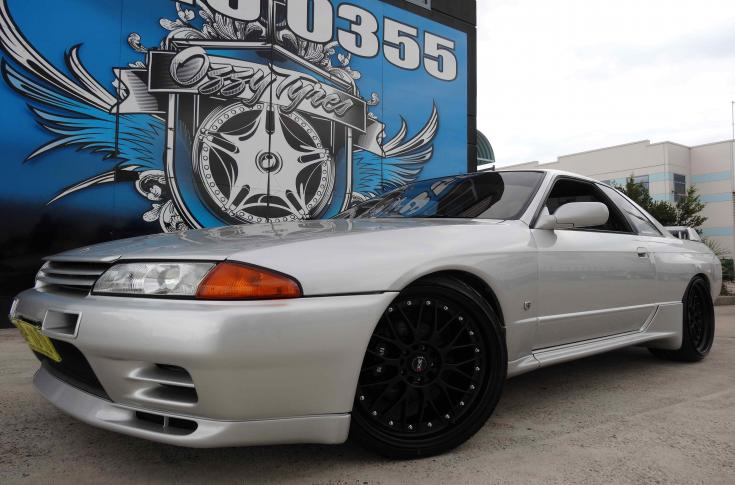 Nissan Skyline R32 Rims & Mag Wheels