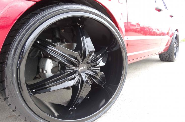 Dodge Caliber Rims & Mag Wheels