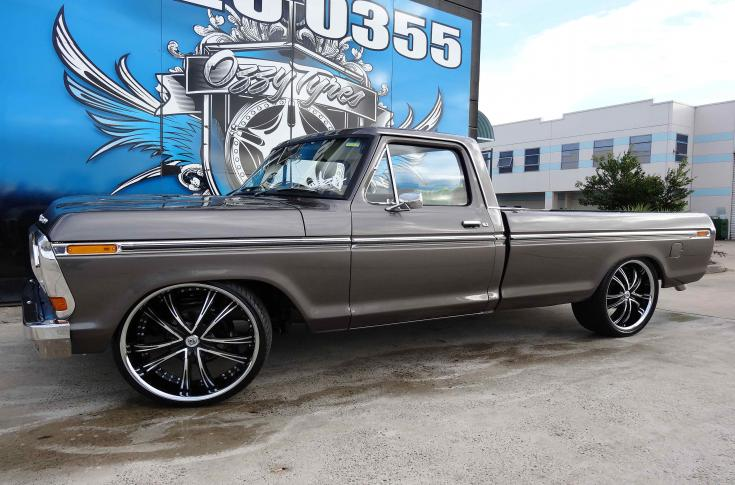 Ford F100 Rims & Mag Wheels