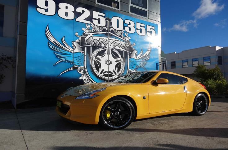 Nissan 370Z Rims & Mag Wheels