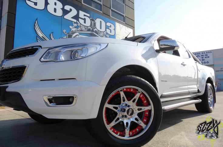 Holden Colorado Rims & Mag Wheels