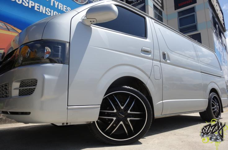 Toyota Hiace Rims & Mag Wheels