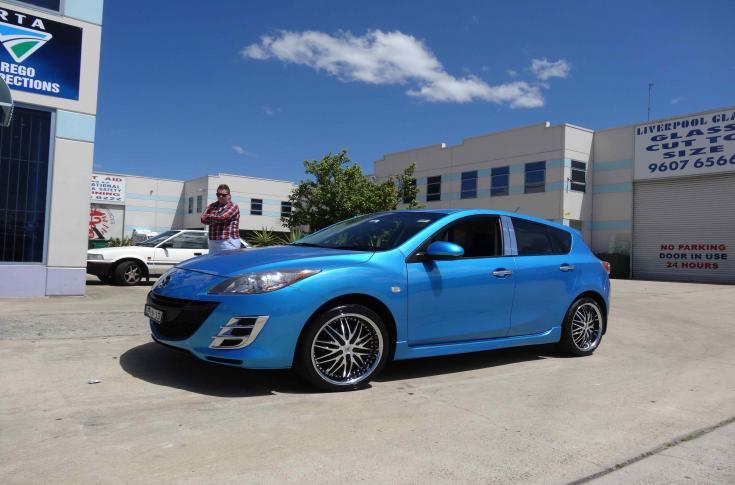 Mazda 3 Rims & Mag Wheels