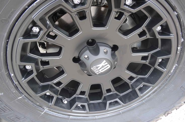 Jeep Wrangler Rims & Mag Wheels