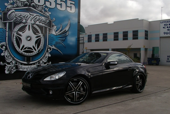 Mercedes SLK Rims & Mag Wheels