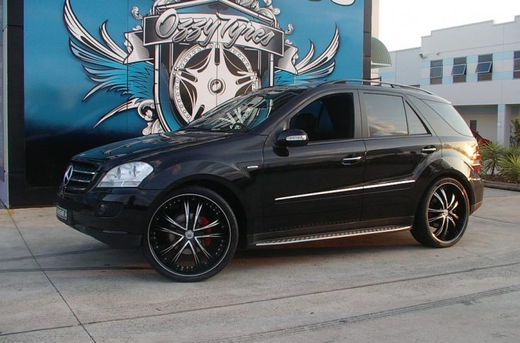 Mercedes GL Rims & Mag Wheels
