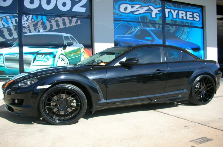 Mazda RX-8 Rims & Mag Wheels