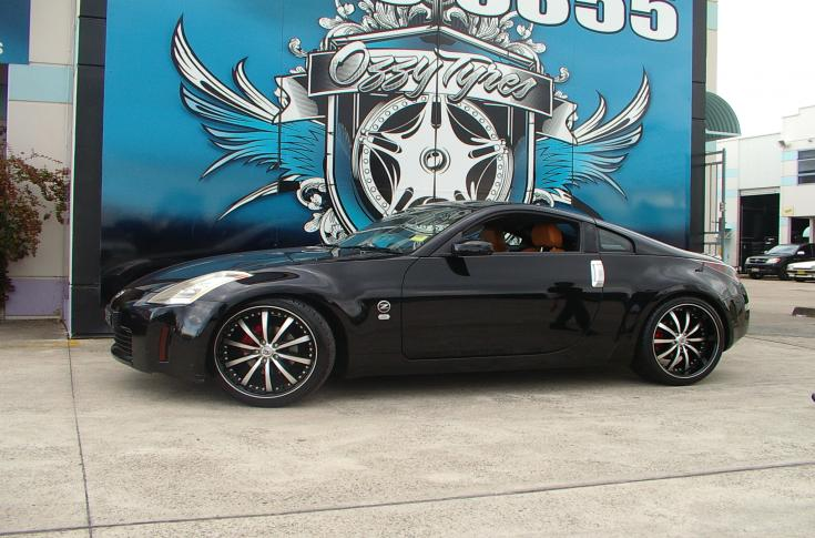 Nissan 350z Rims & Mag Wheels