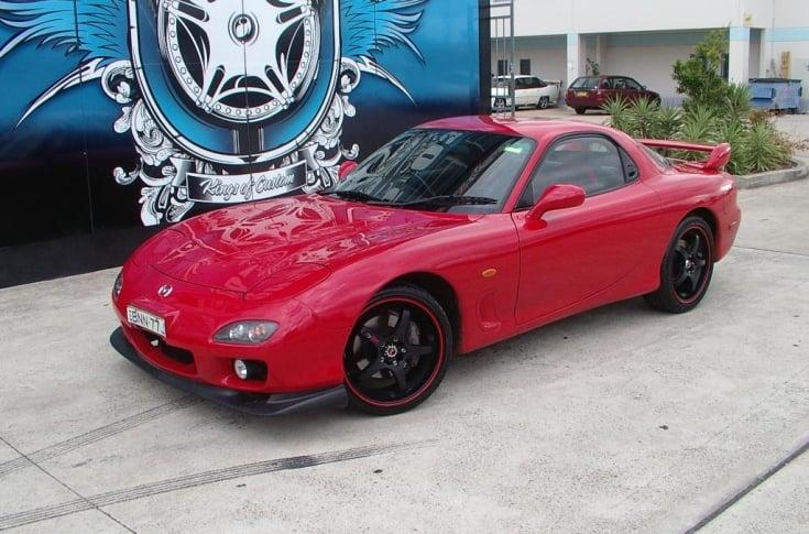 Mazda RX7 Rims & Mag Wheels