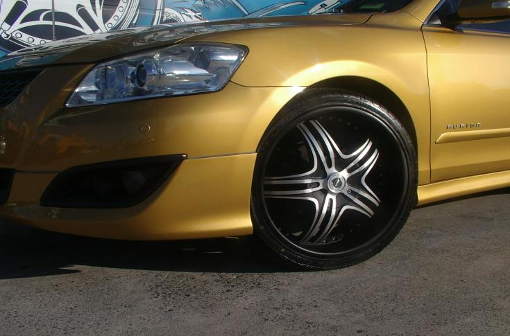 Toyota Aurion Rims & Mag Wheels