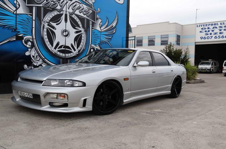 Nissan Skyline R33 Rims & Mag Wheels